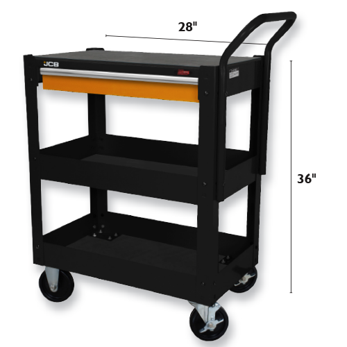 single-drawer-tool-cart-size